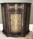 Platt Collection Hand Painted Commode, One