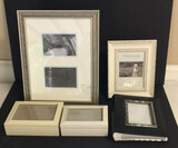 Assorted Picture Frames: (2) Picture Frames, (2)