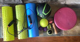 Assorted Exercise and Massage Accessories