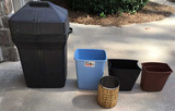 (5) Garbage Cans