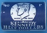2002 U. S. Mint Issued $10 Kennedy Half Dollar