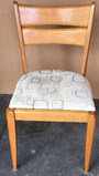 Signed Heywood Wakefield Mid-Century Modern Chair