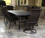 Tropitone Outdoor Rectangular Table & (6) Chairs
