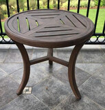 Round Metal Table--26