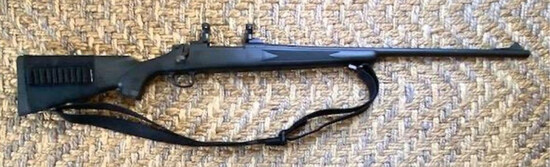 Remington Model 700 7mm Magnum - Polymer stock,