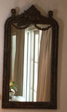 """Ornate Framed Mirror - 32"""" x 58"""" to Top Of Frame"""