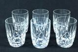 (6) Waterford Crystal