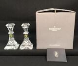 Pair of Waterford Crystal Lismore 8
