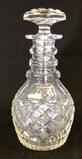 Lead Crystal Decanter--10 1/2