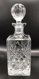 Lead Crystal Decanter--11 1/4