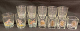 (13) Assorted Drinking Glasses