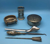 Assorted Vintage Sterling Silver, Silverplate