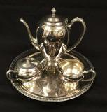 Home Decorators, Inc. Silverplate Coffee Pot,