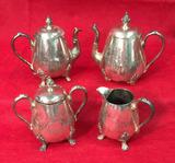 Silver Plate Tea/Coffee Set--