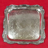 Silver Plate Tray--