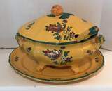 Oval 2-Handle Covered Tureen with Under Plate