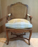 """Chair with Custom Upholstery- 23"""" Wide"""
