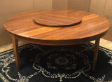 Hand Made Pine Table with Lazy Susan--