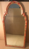 Hand Painted Framed Mirror--49 1/2