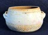 Handled Pottery Pot Signed Walter Hobbs 1976