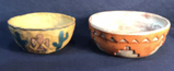 Red Southwest Style Pottery Bowl Signed MP and