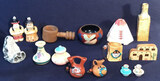 Assorted Small Native American Style Figurines,