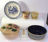 Assorted Vintage Glassware: