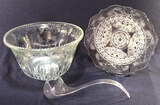 Indiana Glass Princess Punch Bowl with Ladle