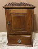 One-Door One Drawer Cabinet--13 3/4