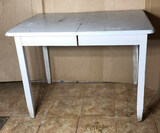 Wooden Painted Dining Table—30 1/2