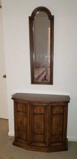 2-Door Console w/Mirror by Butler