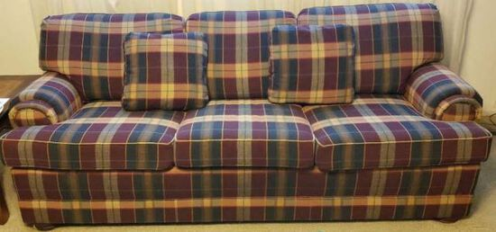"""83"""" Upholstered Sofa w/Fold Out Bed"""