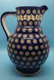 Boleslaweig Pottery Pitcher-Handmade in Poland