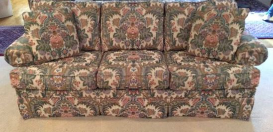 Upholstered Taylor King Sleeper Sofa—84'' Long