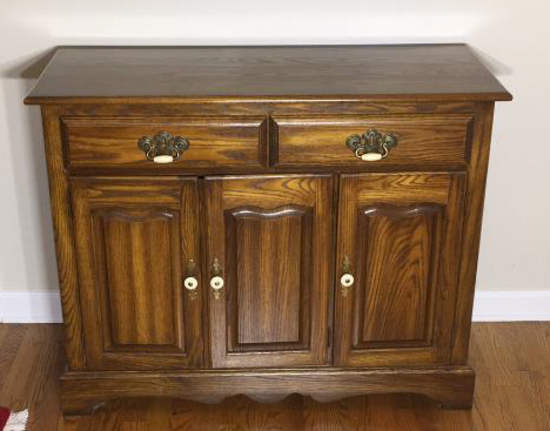Cochrane Furniture Co. Cabinet with (2) Drawers