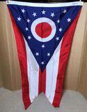 Annin Ohio Swallowtail 3 x 5' Flag