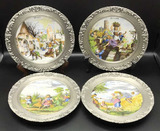 Set of (4) Vintage Seltmann Weiden Bavaria W.