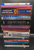 Assorted DVD Movies and (1) Blu-Ray