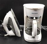 Black & Decker Coffee Maker and Iron