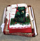 Assorted Christmas Table Linens:
