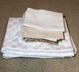 Assorted Linens: (2) Sets of  (12) Matching