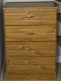 Four Drawer Chest—24 1/2'' x 14'', 36'' High