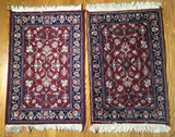 (2) Oriental Style Rugs--3' 5