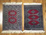 (2) Oriental Style Rugs--30 x 19
