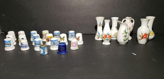 Thimbles & Mini Vases