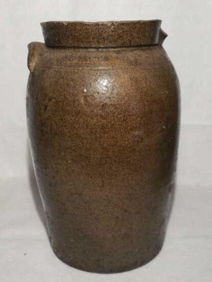 Pottery Jug (Broken Handl