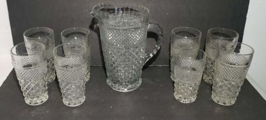 Wexford by Anchor Hocking: Pitcher, 7-Flat Iced