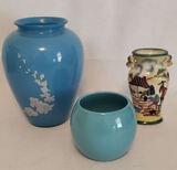 (3) Vases
