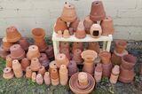 Assorted Clay Pots
