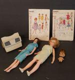 Vintage Dolls, Patterns, Etc